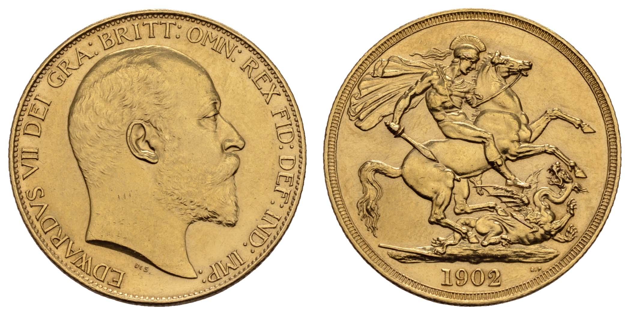 Lot 1593 - europa ab 1800 - Großbritannien -  Auktionshaus Ulrich Felzmann GmbH & Co. KG Coins single lots
