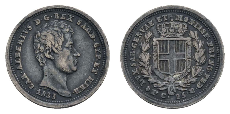 Lot 1633 - europa ab 1800 - Italien-Sardinien -  Auktionshaus Ulrich Felzmann GmbH & Co. KG Coins single lots