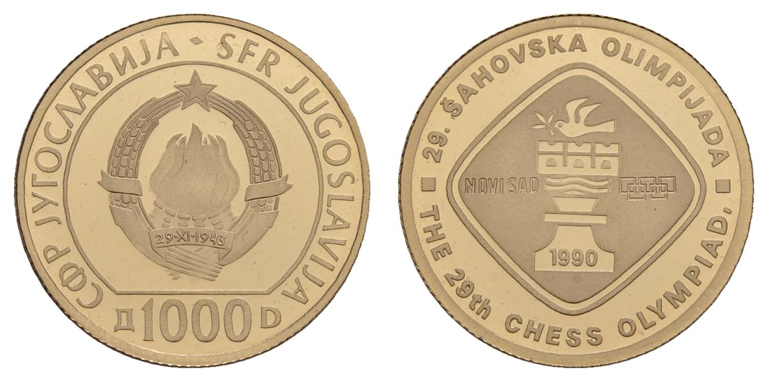 Lot 1680 - europa ab 1800 - Jugoslawien -  Auktionshaus Ulrich Felzmann GmbH & Co. KG Coins single lots