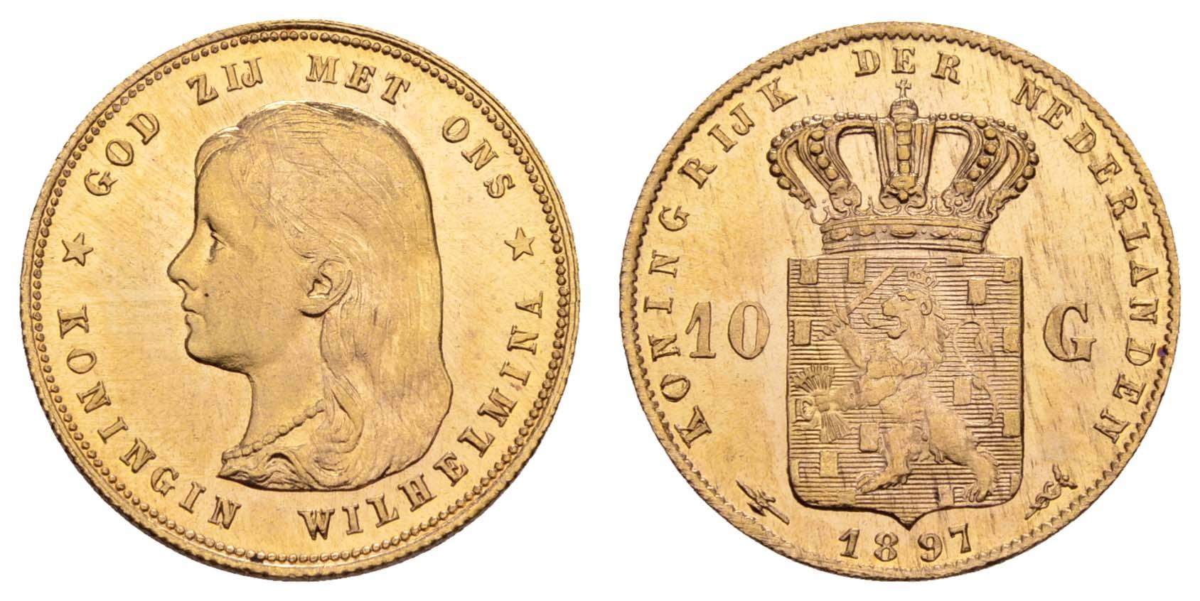 Lot 1696 - europa ab 1800 - Niederlande -  Auktionshaus Ulrich Felzmann GmbH & Co. KG Coins single lots
