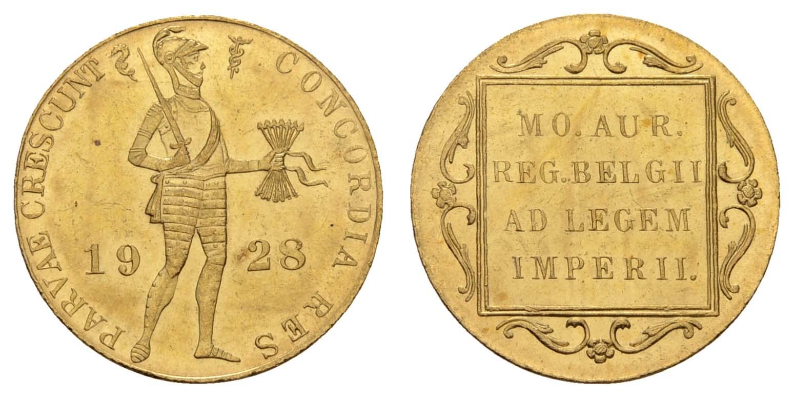 Lot 1697 - europa ab 1800 - Niederlande -  Auktionshaus Ulrich Felzmann GmbH & Co. KG Coins single lots