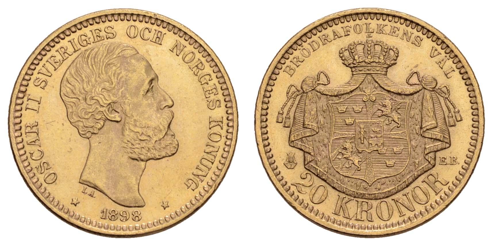 Lot 1698 - europa ab 1800 - Norwegen -  Auktionshaus Ulrich Felzmann GmbH & Co. KG Coins single lots