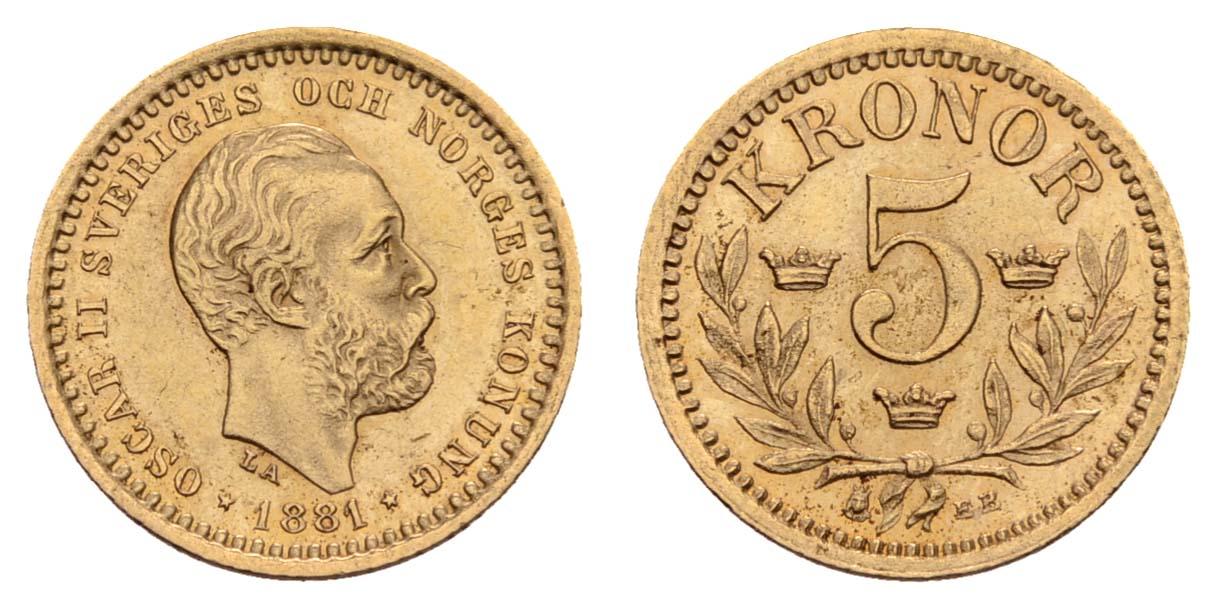 Lot 1781 - europa ab 1800 - Schweden -  Auktionshaus Ulrich Felzmann GmbH & Co. KG Coins single lots