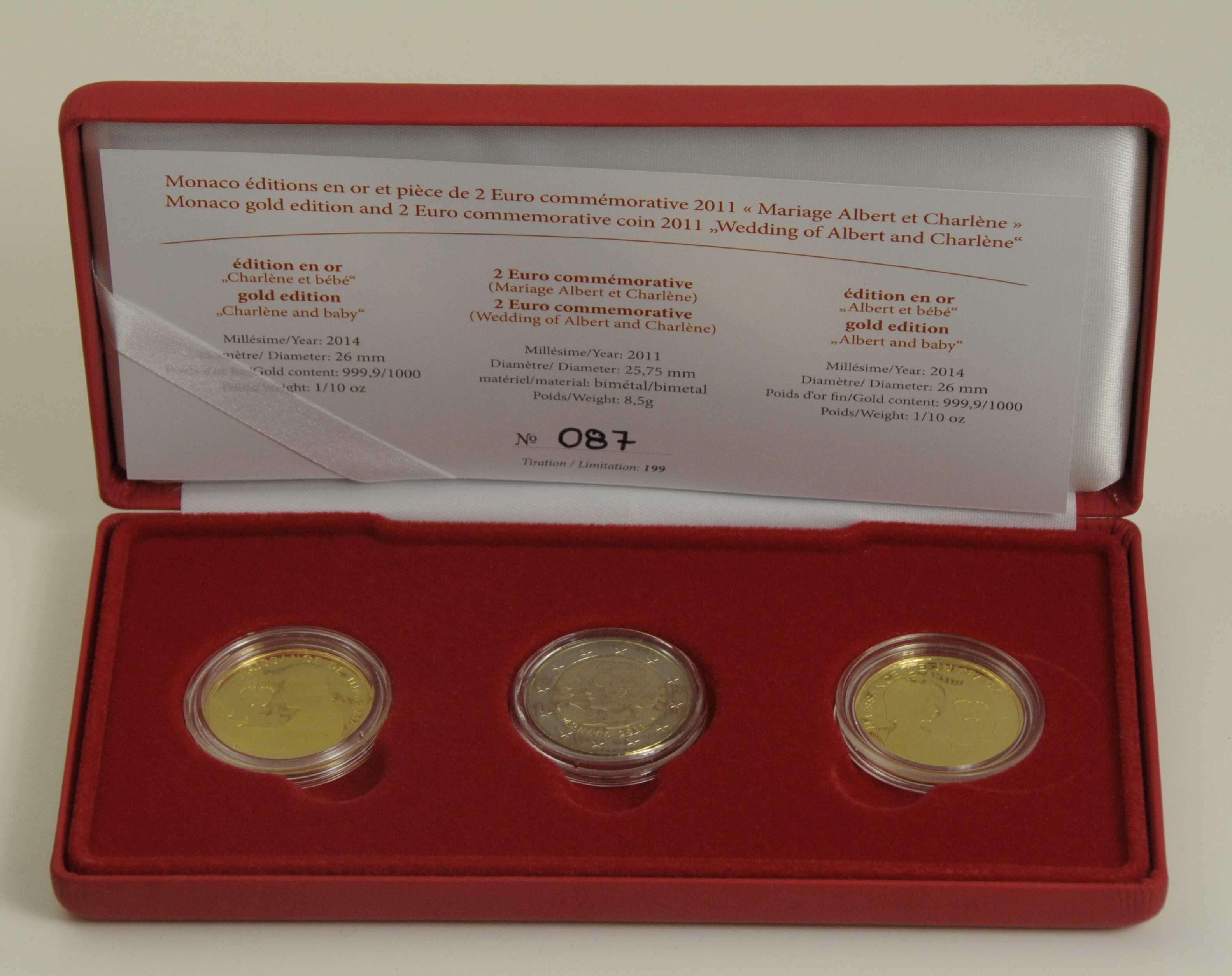 Lot 1836 - europa Euroländer - Monaco -  Auktionshaus Ulrich Felzmann GmbH & Co. KG Coins single lots
