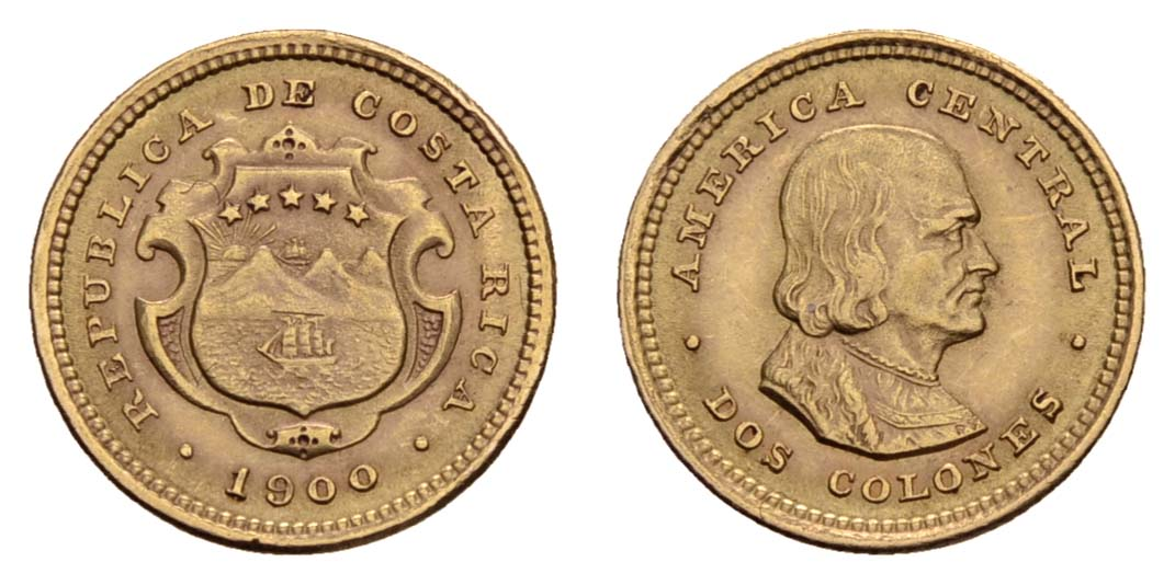 Lot 1944 - übersee Costa Rica -  Auktionshaus Ulrich Felzmann GmbH & Co. KG Coins single lots
