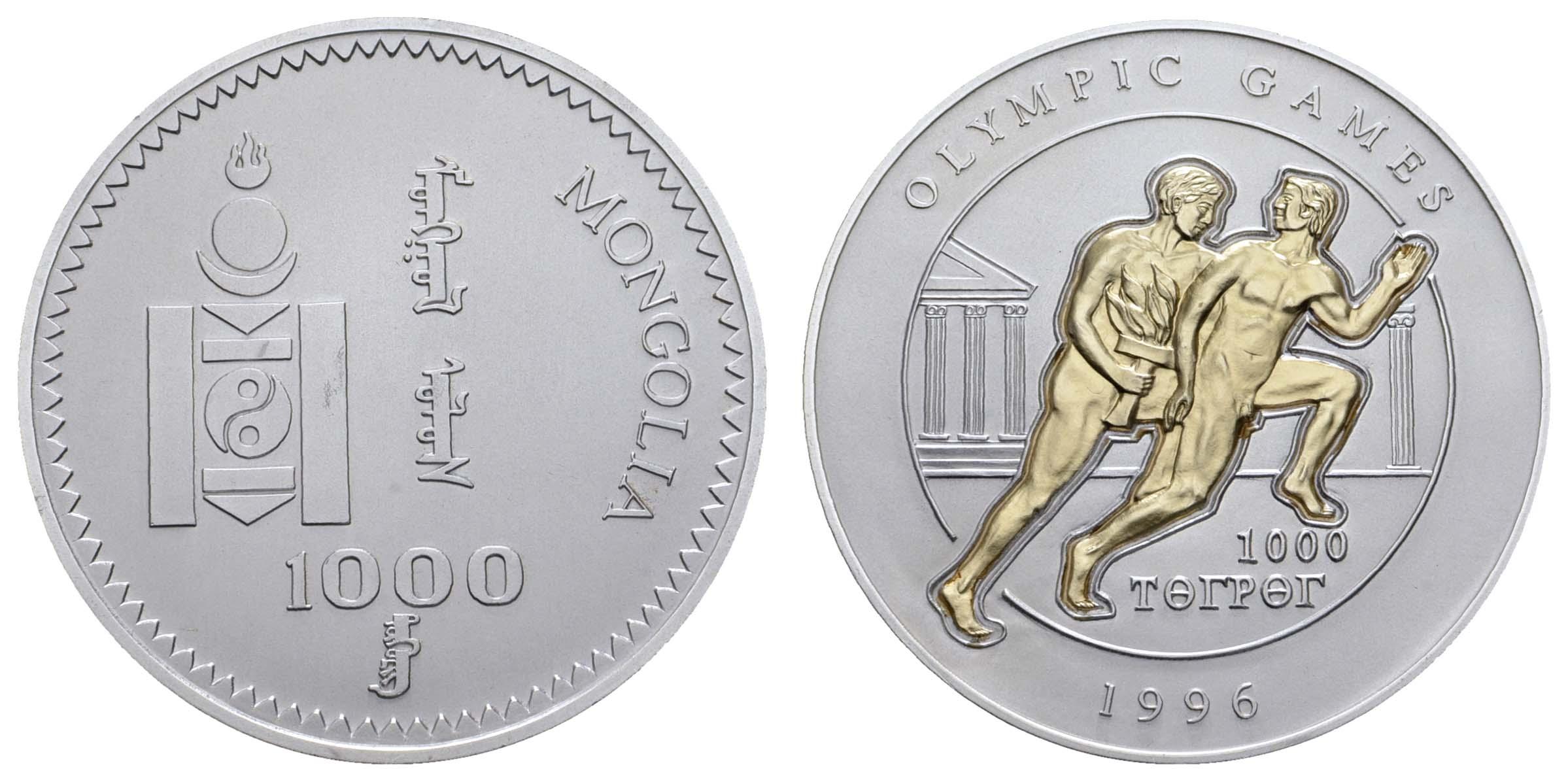 Lot 2073 - übersee mongolei -  Auktionshaus Ulrich Felzmann GmbH & Co. KG Coins single lots