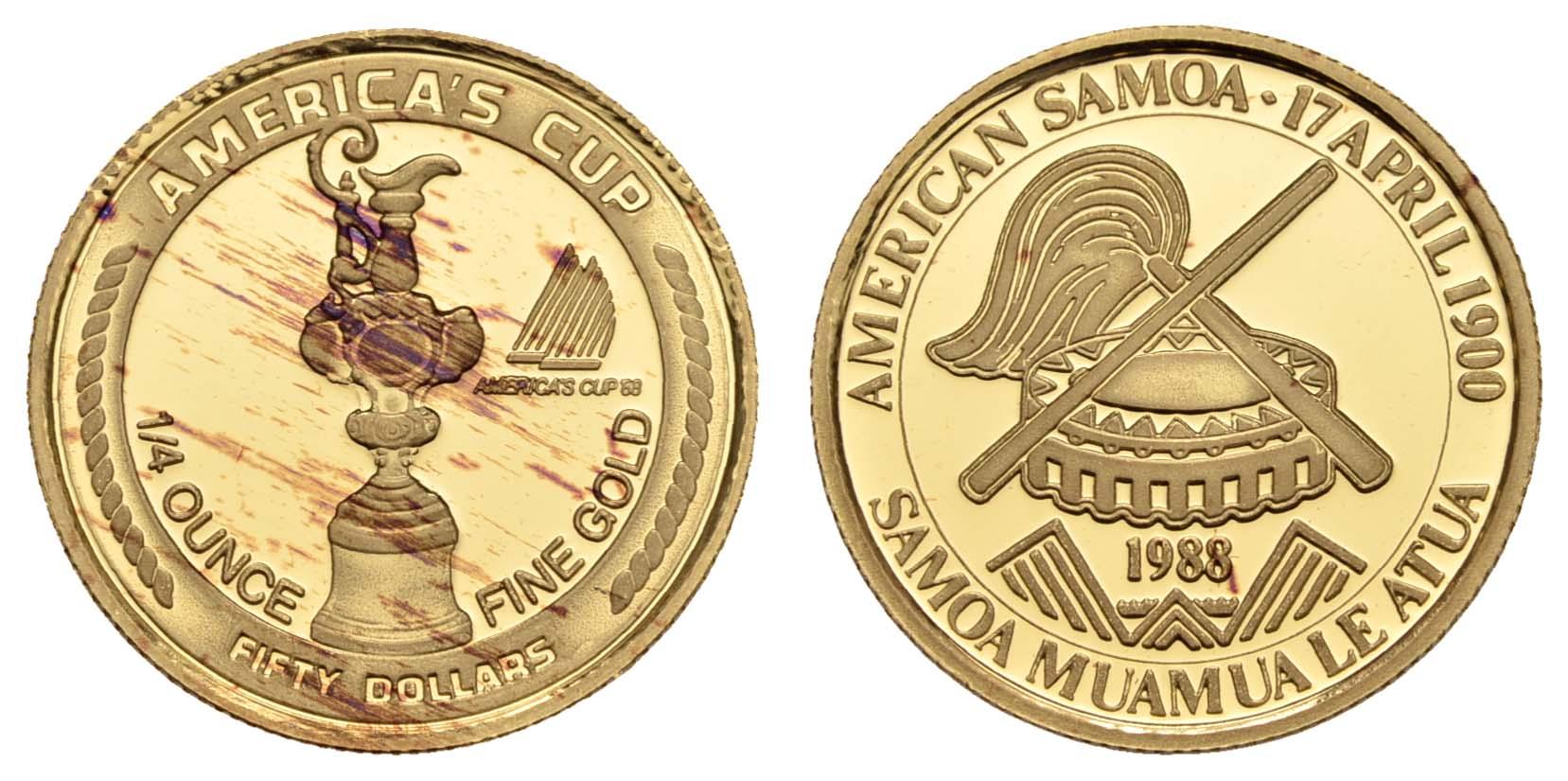 Lot 2106 - übersee samoa -  Auktionshaus Ulrich Felzmann GmbH & Co. KG Coins single lots