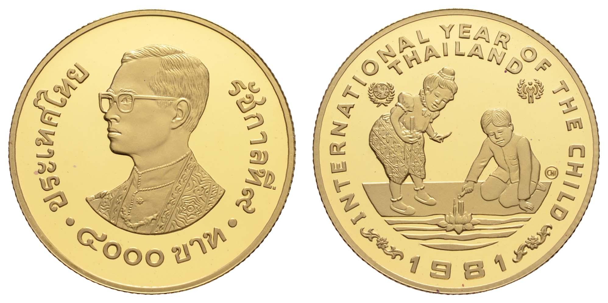 Lot 2134 - übersee thailand -  Auktionshaus Ulrich Felzmann GmbH & Co. KG Coins single lots