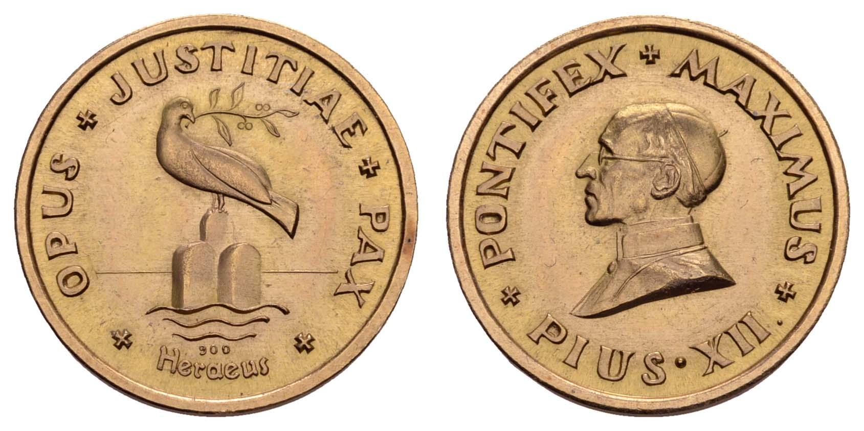 Lot 2194 - medaillen Gold-, Platin- und Palladiummedaillen - Europa -  Auktionshaus Ulrich Felzmann GmbH & Co. KG Coins single lots