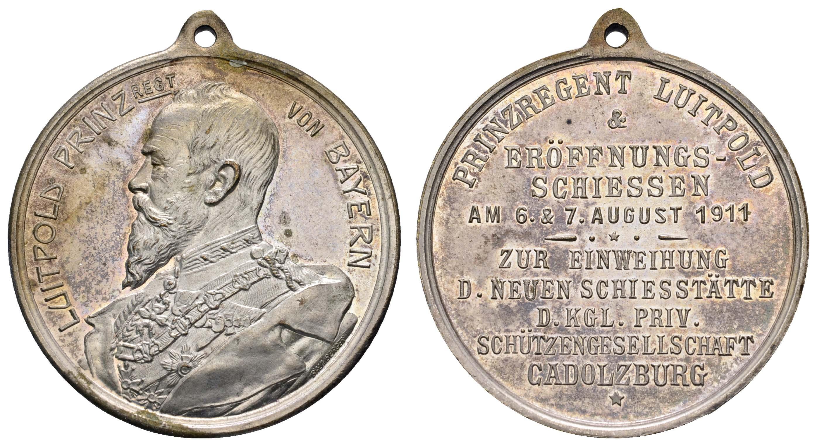 Lot 2210 - medaillen Sonstige Medaillen - Deutschland -  Auktionshaus Ulrich Felzmann GmbH & Co. KG Coins single lots