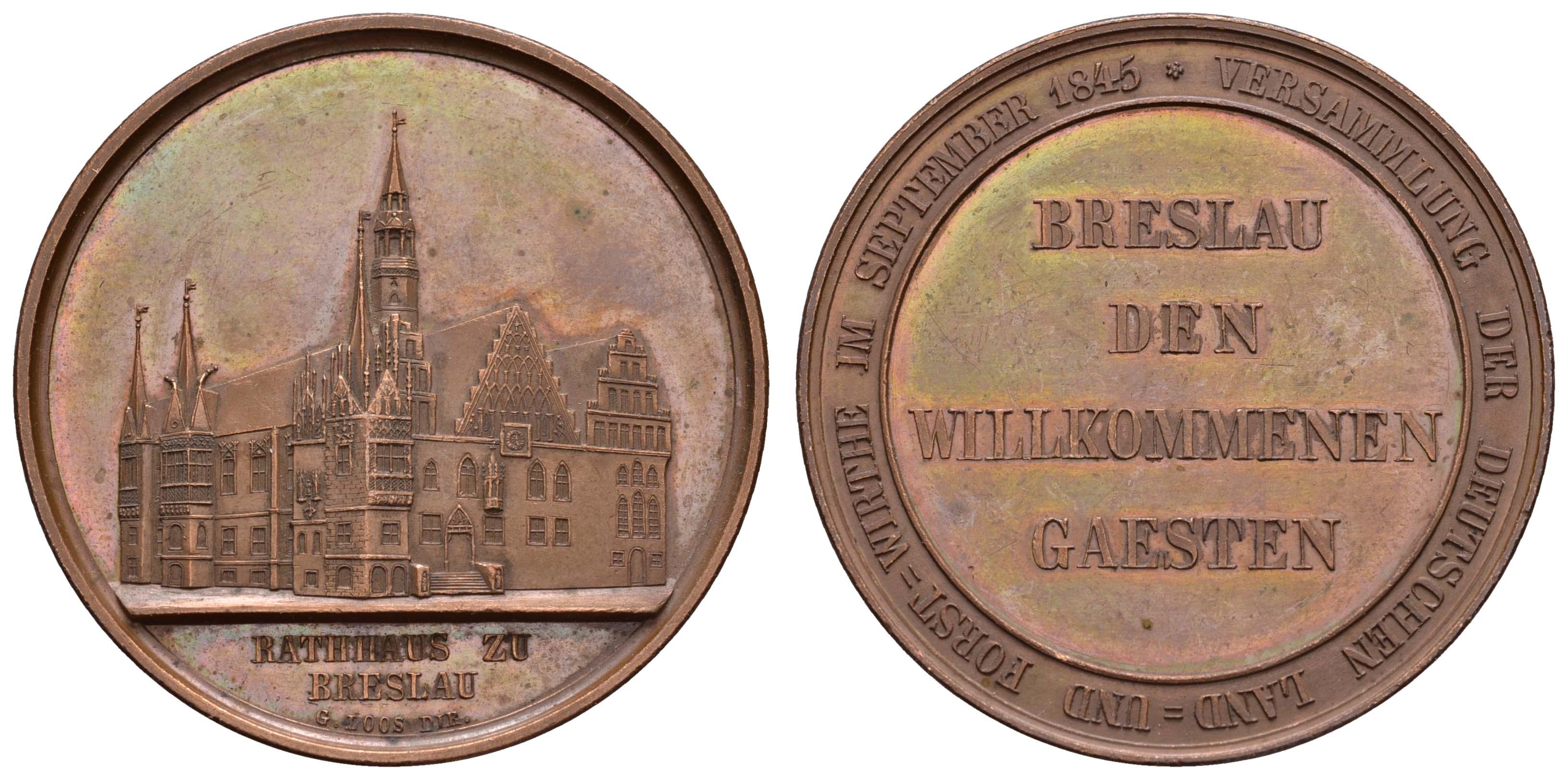 Lot 2212 - medaillen Sonstige Medaillen - Deutschland -  Auktionshaus Ulrich Felzmann GmbH & Co. KG Coins single lots