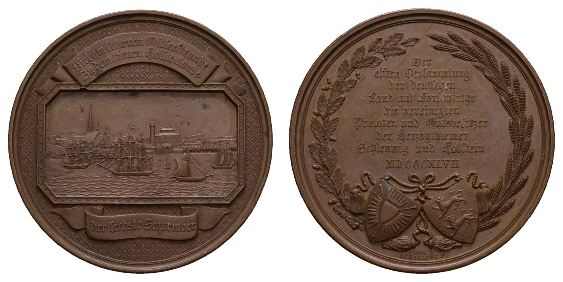 Lot 2216 - medaillen Sonstige Medaillen - Deutschland -  Auktionshaus Ulrich Felzmann GmbH & Co. KG Coins single lots
