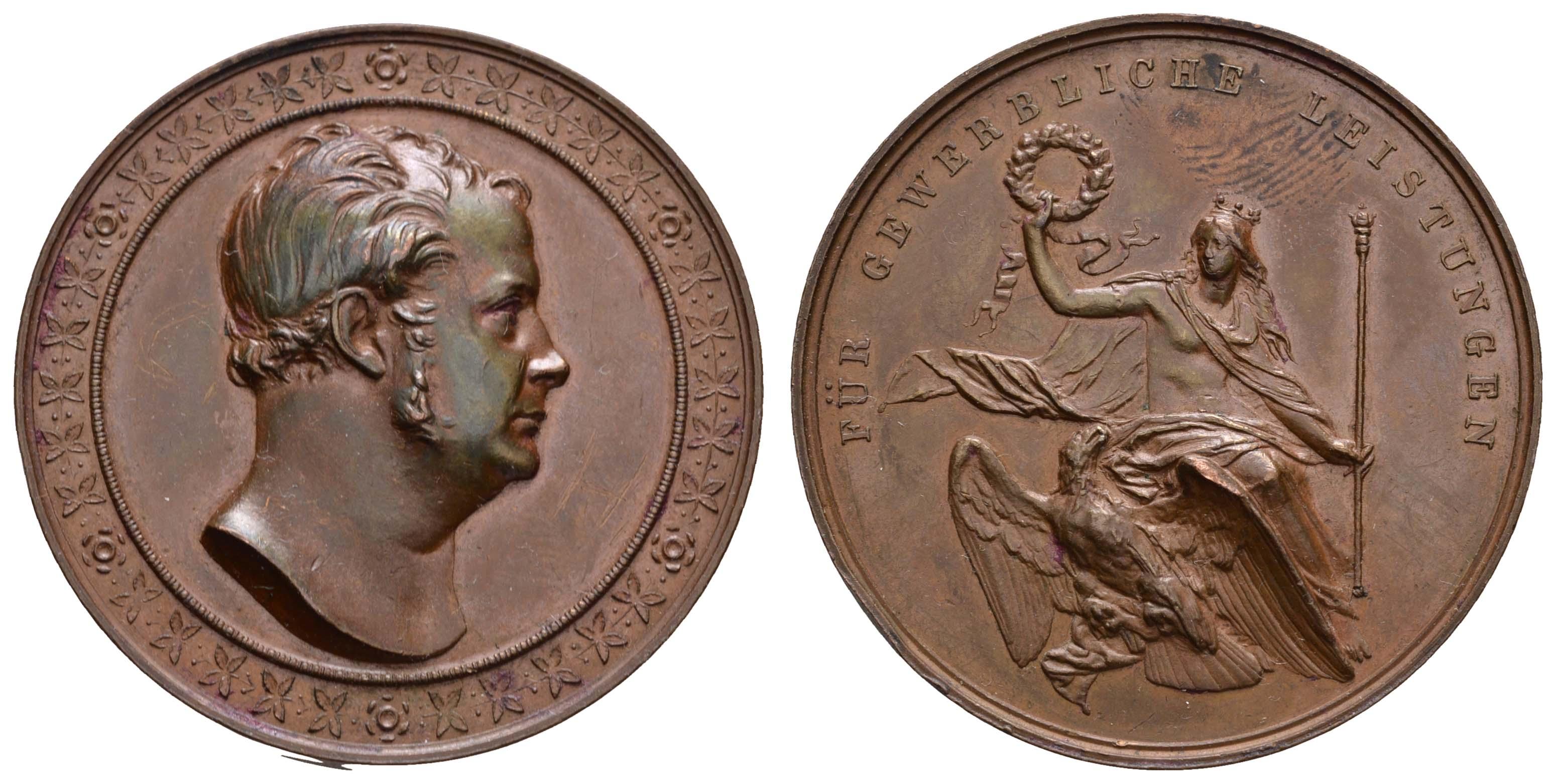 Lot 2228 - medaillen Sonstige Medaillen - Deutschland -  Auktionshaus Ulrich Felzmann GmbH & Co. KG Coins single lots
