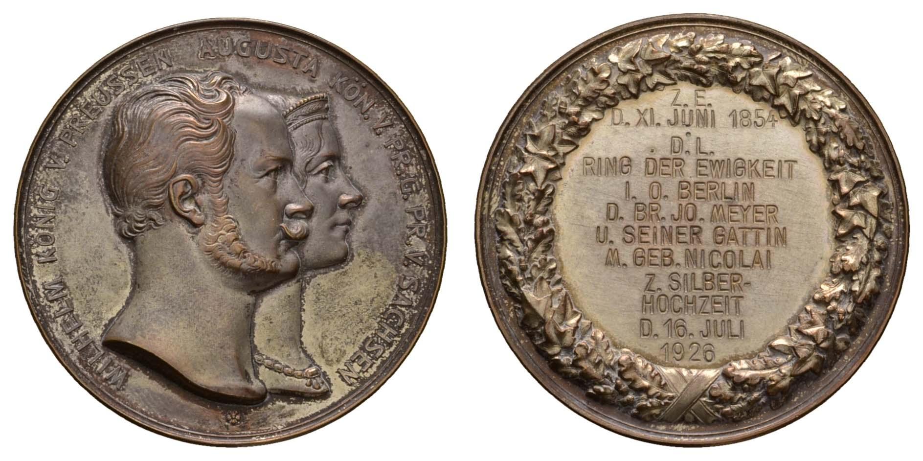 Lot 2243 - medaillen Sonstige Medaillen - Deutschland -  Auktionshaus Ulrich Felzmann GmbH & Co. KG Coins single lots