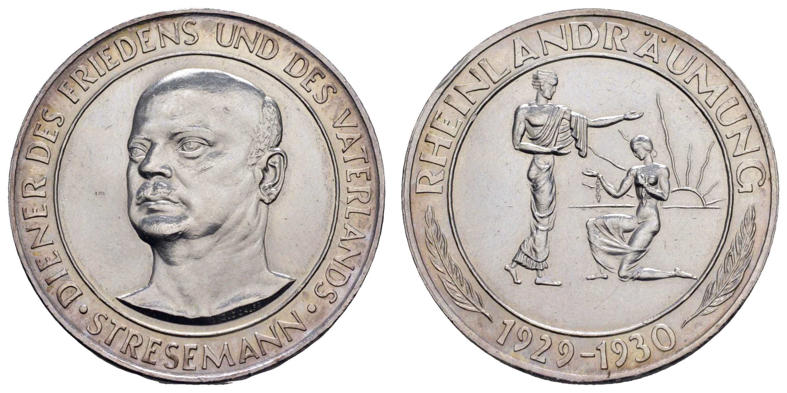 Lot 2257 - medaillen Sonstige Medaillen - Deutschland -  Auktionshaus Ulrich Felzmann GmbH & Co. KG Coins single lots