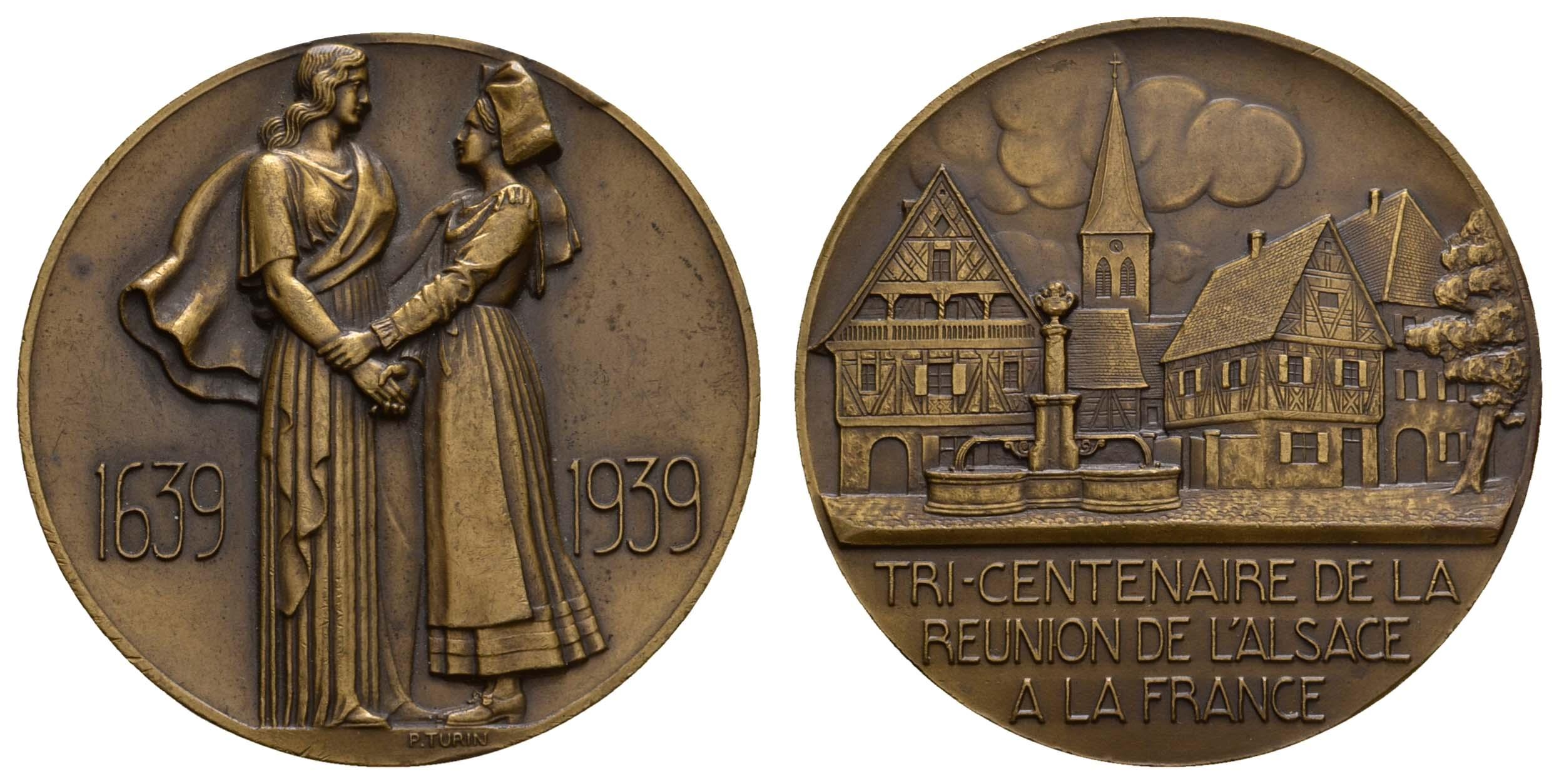 Lot 2270 - medaillen Sonstige Medaillen - Europa -  Auktionshaus Ulrich Felzmann GmbH & Co. KG Coins single lots