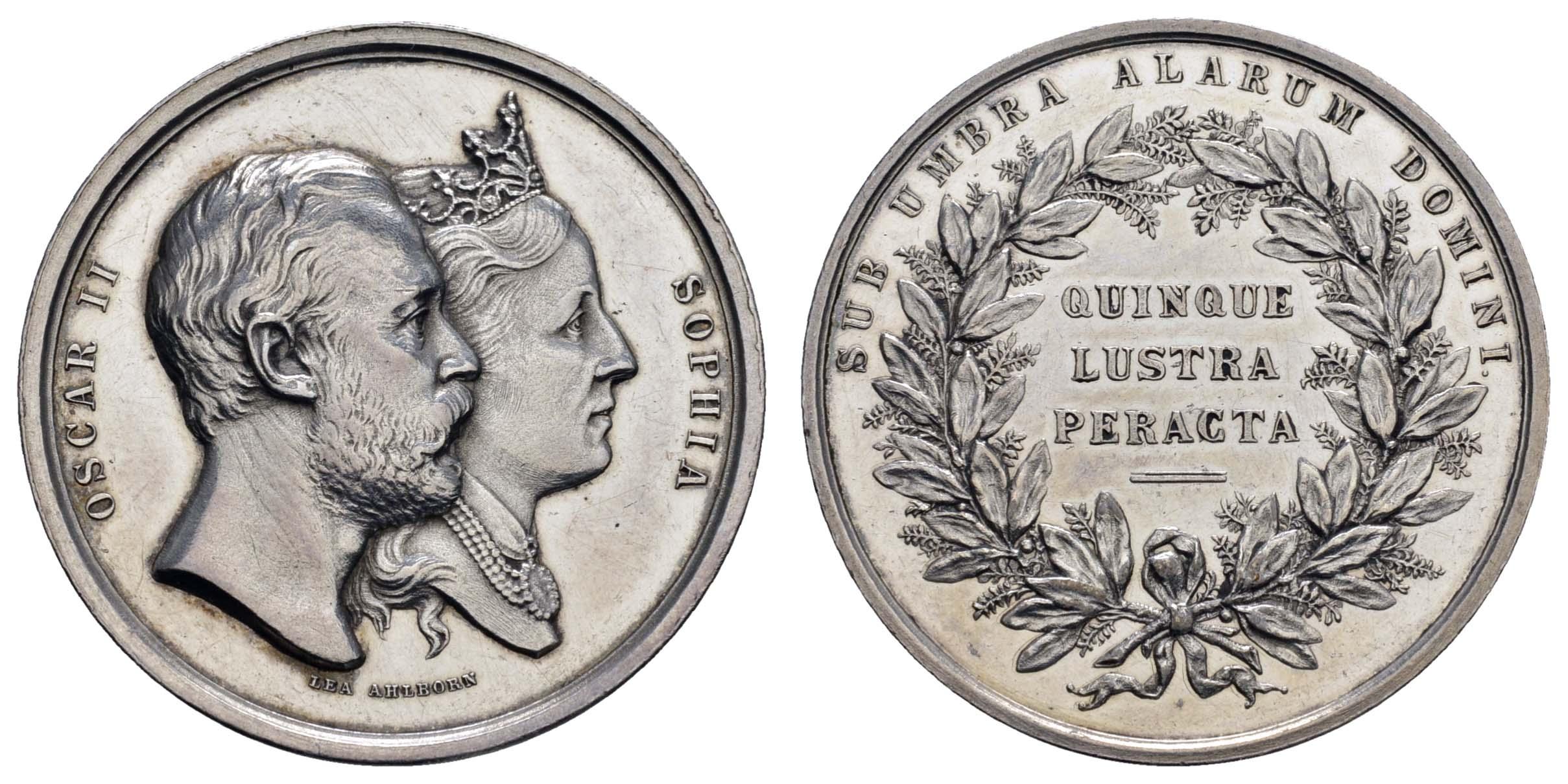 Lot 2279 - medaillen Sonstige Medaillen - Europa -  Auktionshaus Ulrich Felzmann GmbH & Co. KG Coins single lots