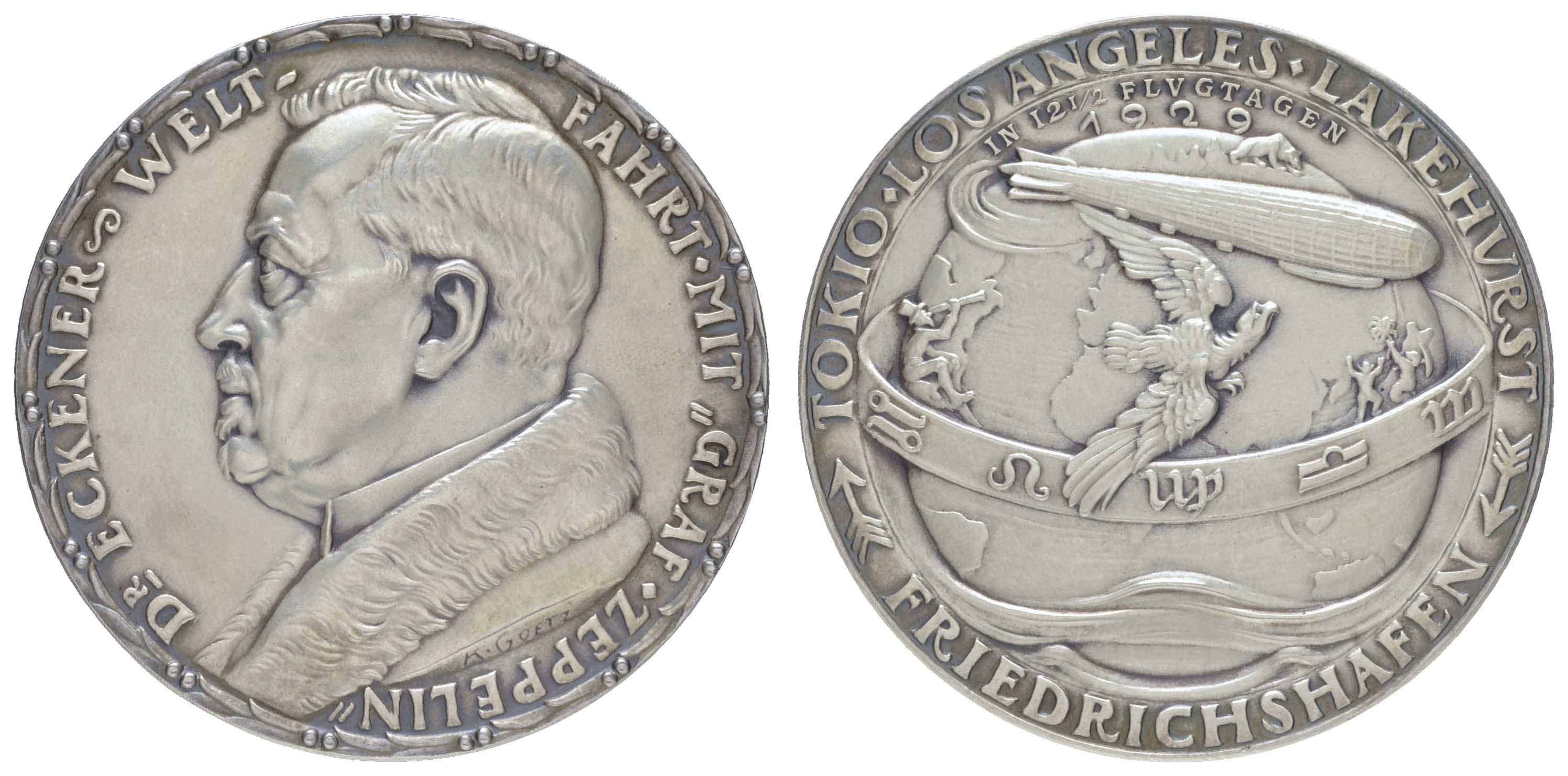 Lot 2305 - medaillen Sonstige Medaillen - Medailleure -  Auktionshaus Ulrich Felzmann GmbH & Co. KG Coins single lots