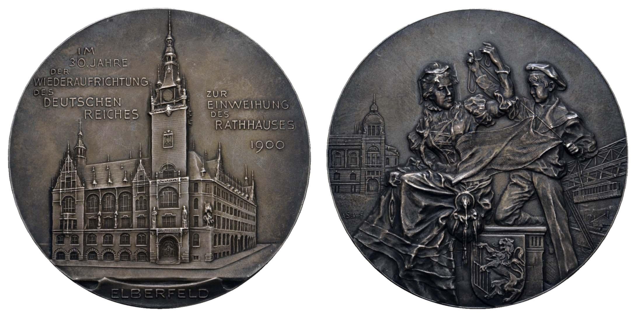 Lot 2312 - medaillen Sonstige Medaillen - Städtemedaillen -  Auktionshaus Ulrich Felzmann GmbH & Co. KG Coins single lots