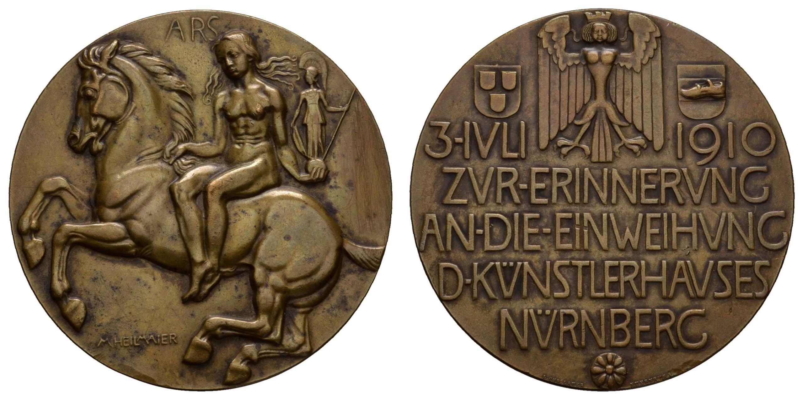 Lot 2314 - medaillen Sonstige Medaillen - Städtemedaillen -  Auktionshaus Ulrich Felzmann GmbH & Co. KG Coins single lots