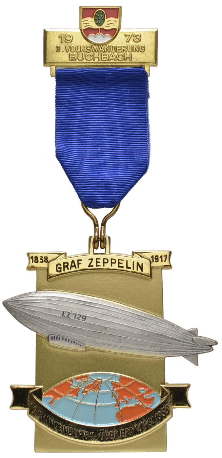 Lot 2326 - medaillen Sonstige Medaillen - Zeppelin -  Auktionshaus Ulrich Felzmann GmbH & Co. KG Coins single lots