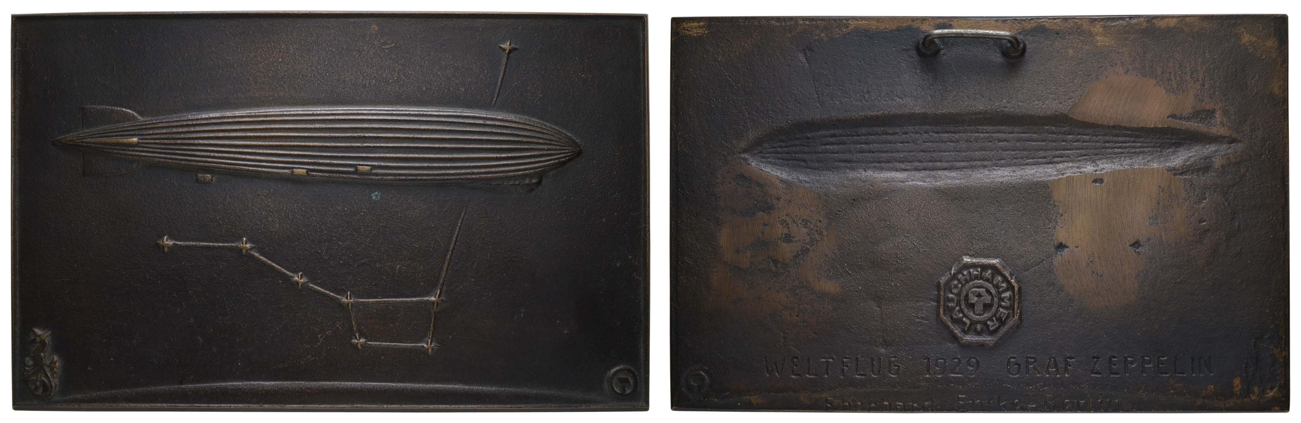 Lot 2339 - medaillen Sonstige Medaillen - Zeppelin -  Auktionshaus Ulrich Felzmann GmbH & Co. KG Coins single lots