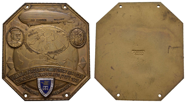 Lot 2340 - medaillen Sonstige Medaillen - Zeppelin -  Auktionshaus Ulrich Felzmann GmbH & Co. KG Coins single lots