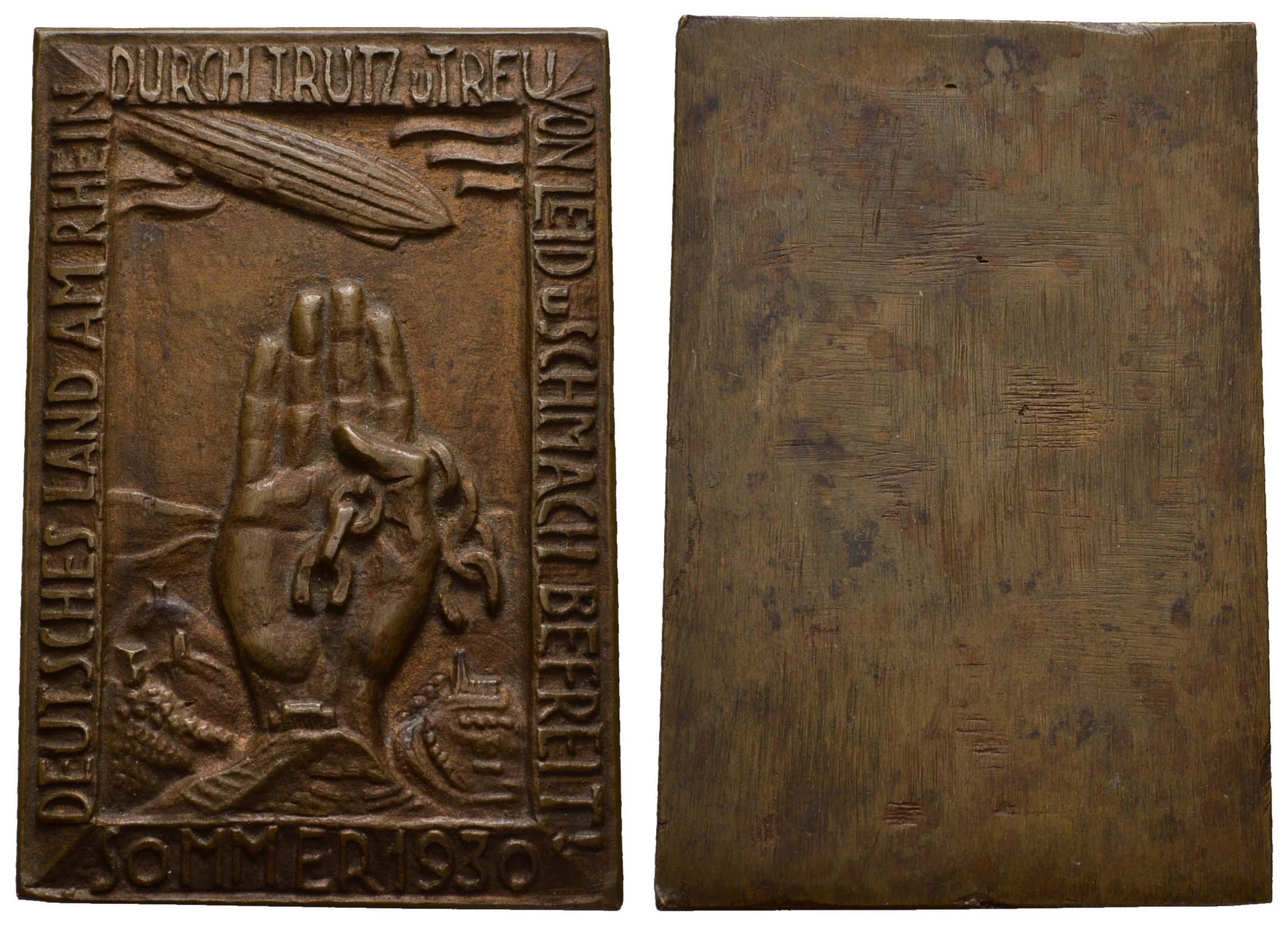 Lot 2344 - medaillen Sonstige Medaillen - Zeppelin -  Auktionshaus Ulrich Felzmann GmbH & Co. KG Coins single lots