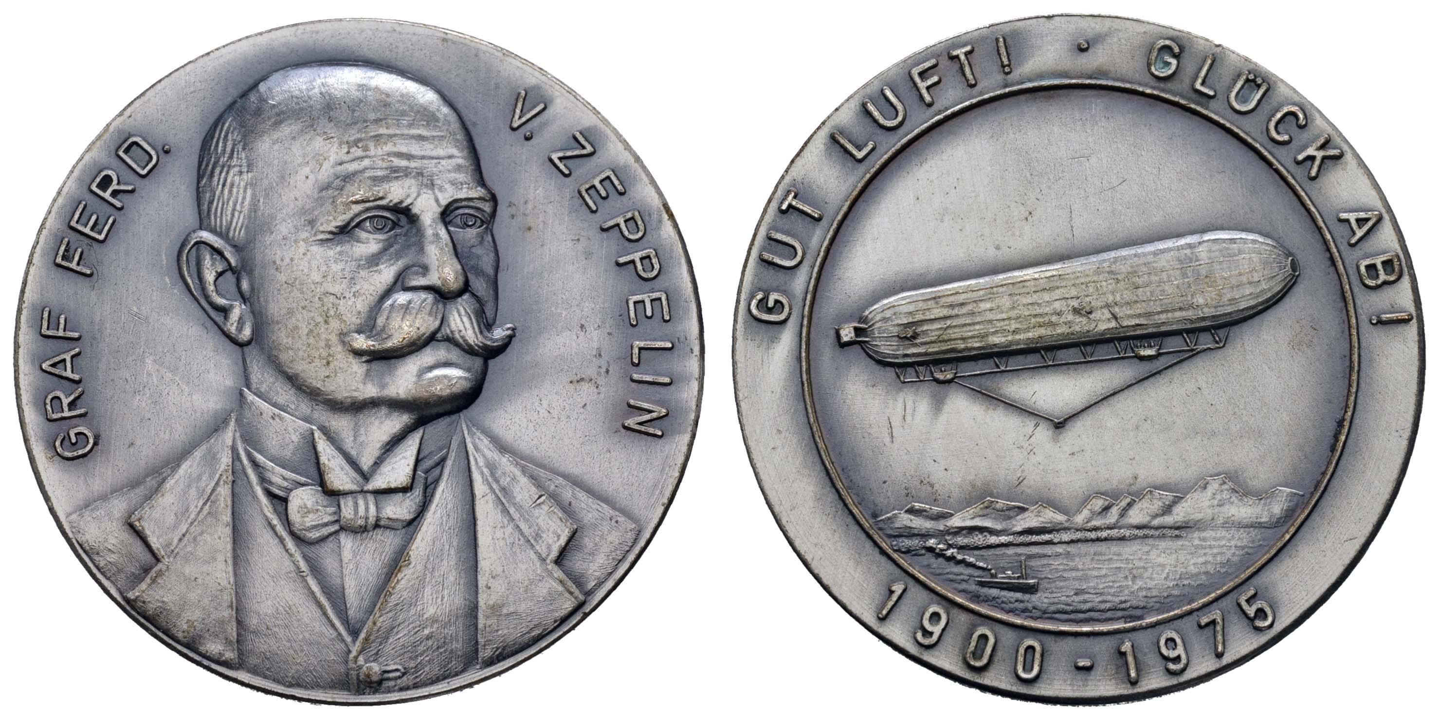 Lot 2350 - medaillen Sonstige Medaillen - Zeppelin -  Auktionshaus Ulrich Felzmann GmbH & Co. KG Coins single lots