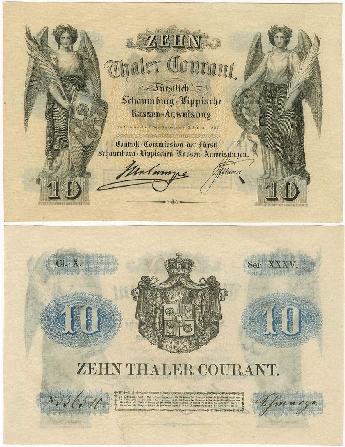 Lot 2355 - Geldscheine Deutschland - Altdeutschland -  Auktionshaus Ulrich Felzmann GmbH & Co. KG Coins single lots