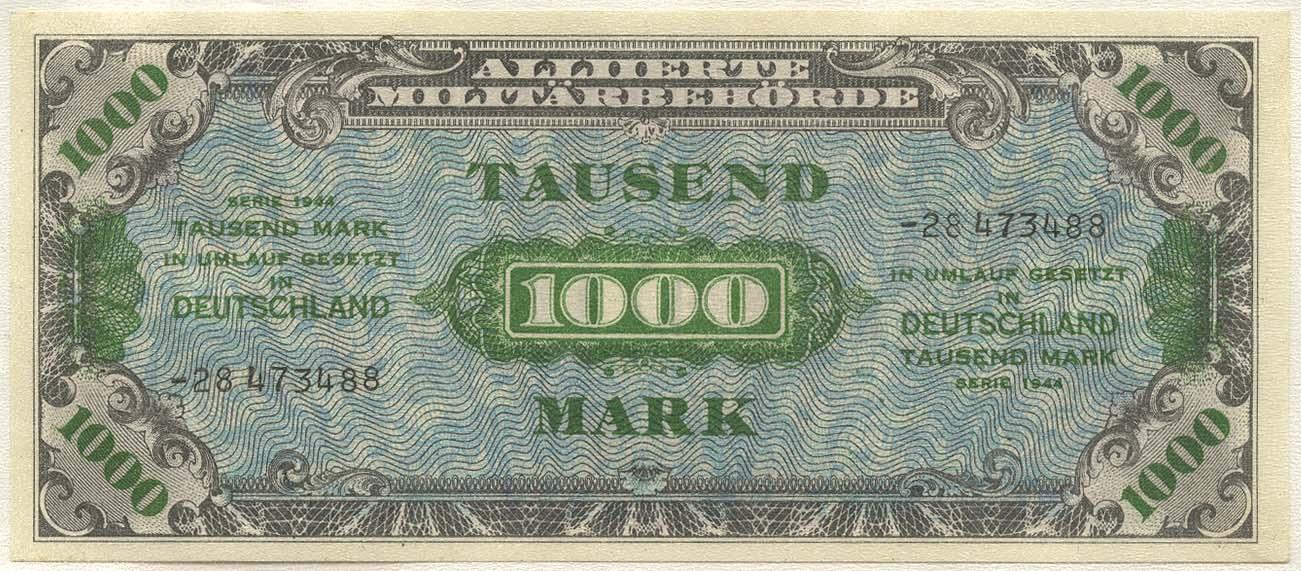 Lot 2376 - Geldscheine Deutschland - Alliierte Besatzung -  Auktionshaus Ulrich Felzmann GmbH & Co. KG Coins single lots
