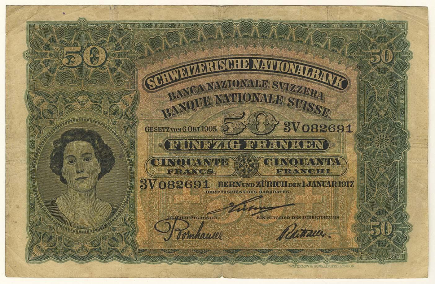 Lot 2426 - Geldscheine Ausland - Schweiz -  Auktionshaus Ulrich Felzmann GmbH & Co. KG Coins single lots