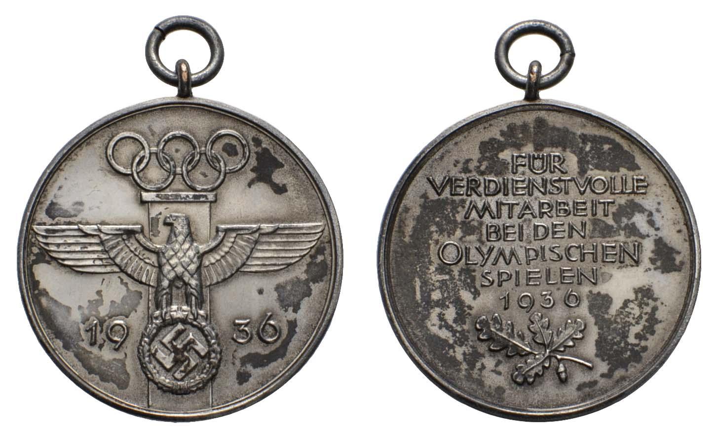 Lot 2476 - orden und abzeichen Deutschland - III. Reich Olympische Spiele -  Auktionshaus Ulrich Felzmann GmbH & Co. KG Coins single lots