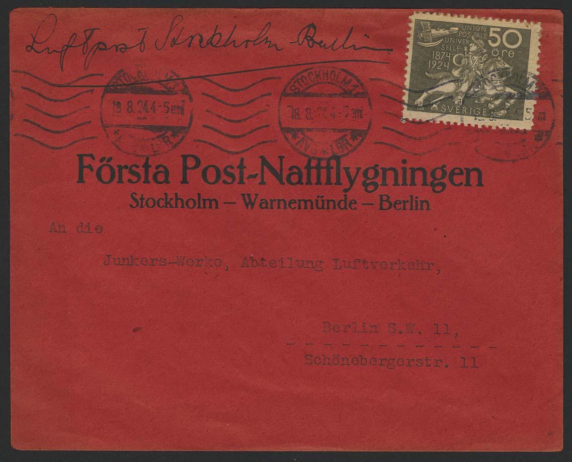 Lot 4061 - flugpost Flugpost International - Alphabetisch nach Ländern -  Auktionshaus Ulrich Felzmann GmbH & Co. KG