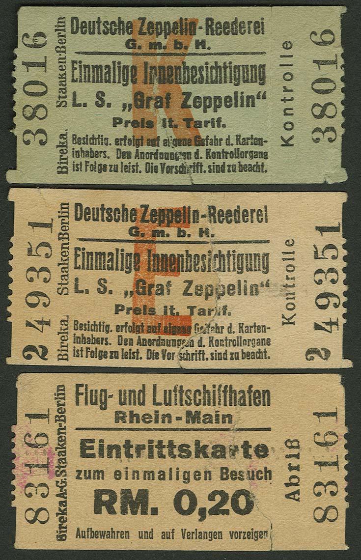 Lot 4115 - Zeppelin-Memorabilien Memorabilien -  Auktionshaus Ulrich Felzmann GmbH & Co. KG