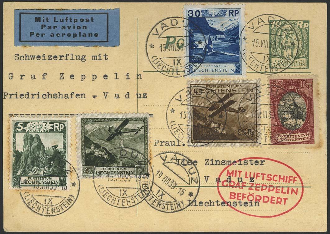 Lot 4484 - Zuleitungen Europa A-Z - Liechtenstein -  Auktionshaus Ulrich Felzmann GmbH & Co. KG