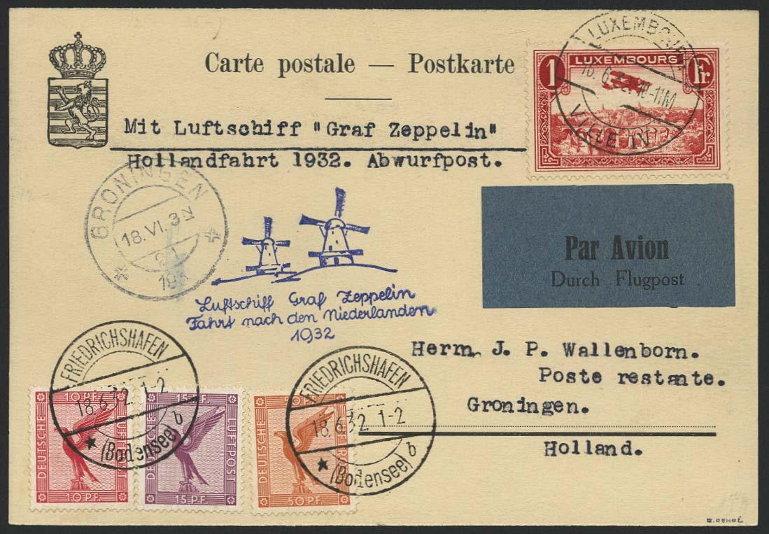 Lot 4521 - Zuleitungen Europa A-Z - Luxemburg -  Auktionshaus Ulrich Felzmann GmbH & Co. KG