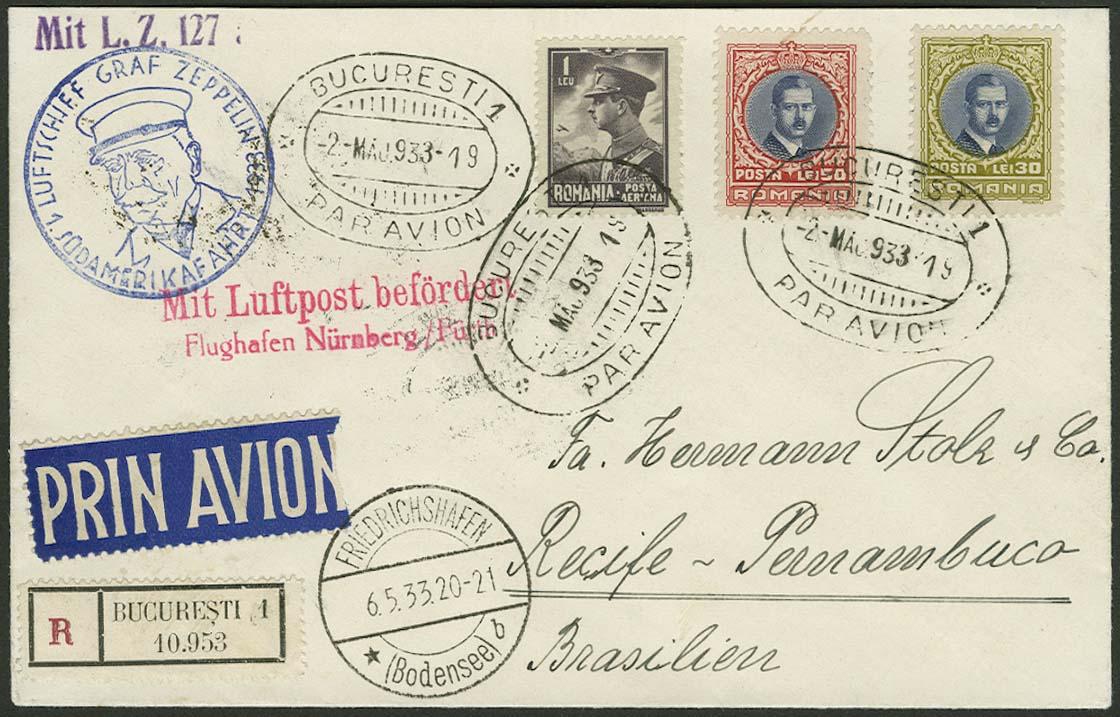 Lot 4551 - Zuleitungen Europa A-Z - Rumänien -  Auktionshaus Ulrich Felzmann GmbH & Co. KG