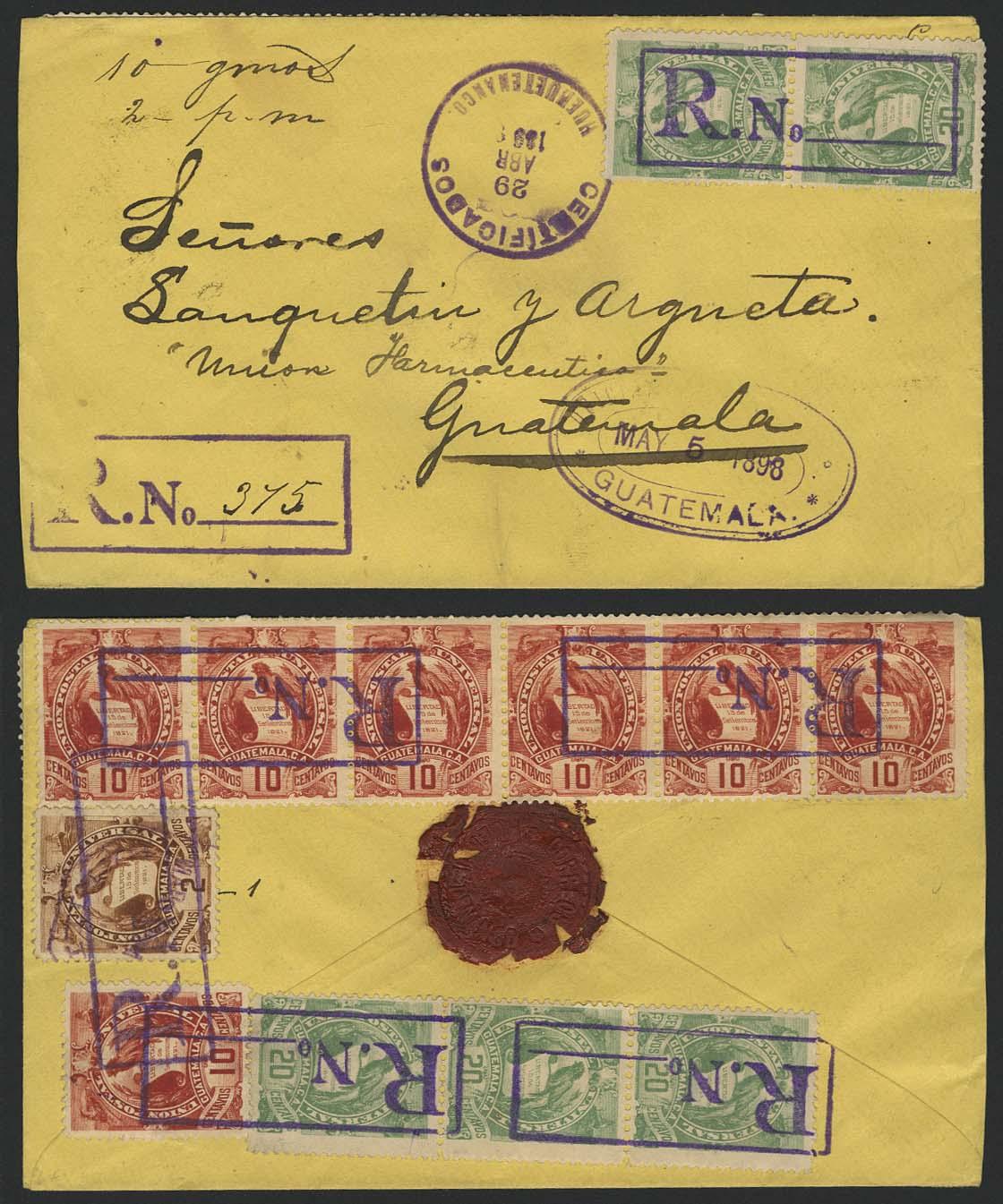 Lot 5047 - Übersee A-Z Guatemala - Markenausgaben -  Auktionshaus Ulrich Felzmann GmbH & Co. KG