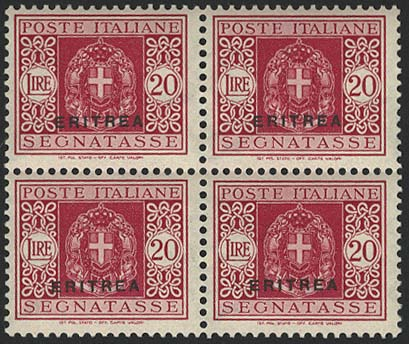 Lot 5113 - Übersee A-Z Italienische Kolonien - Italienisch Eritrea -  Auktionshaus Ulrich Felzmann GmbH & Co. KG