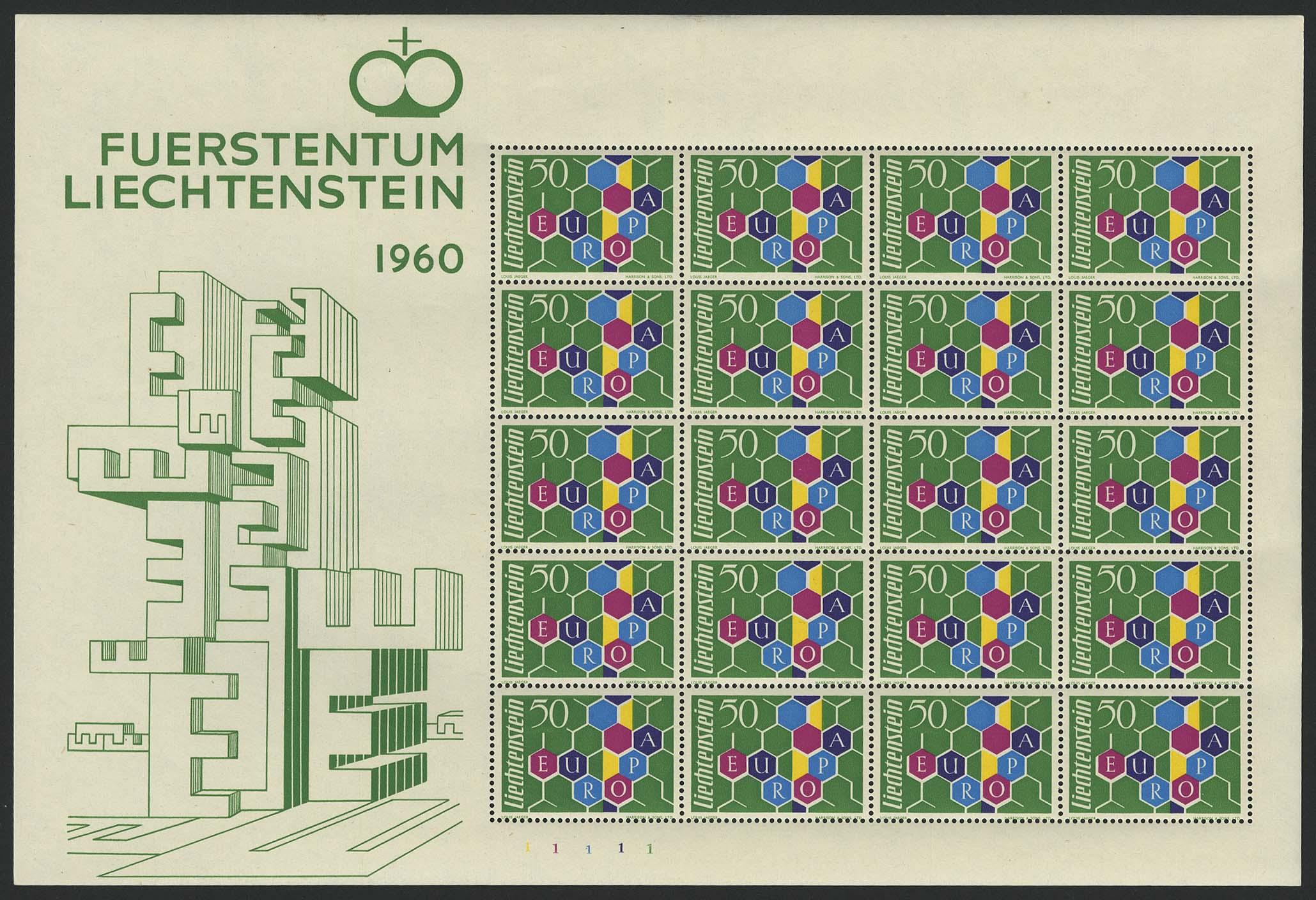 Lot 5249 - Europa A-Z Liechtenstein - Markenausgaben -  Auktionshaus Ulrich Felzmann GmbH & Co. KG