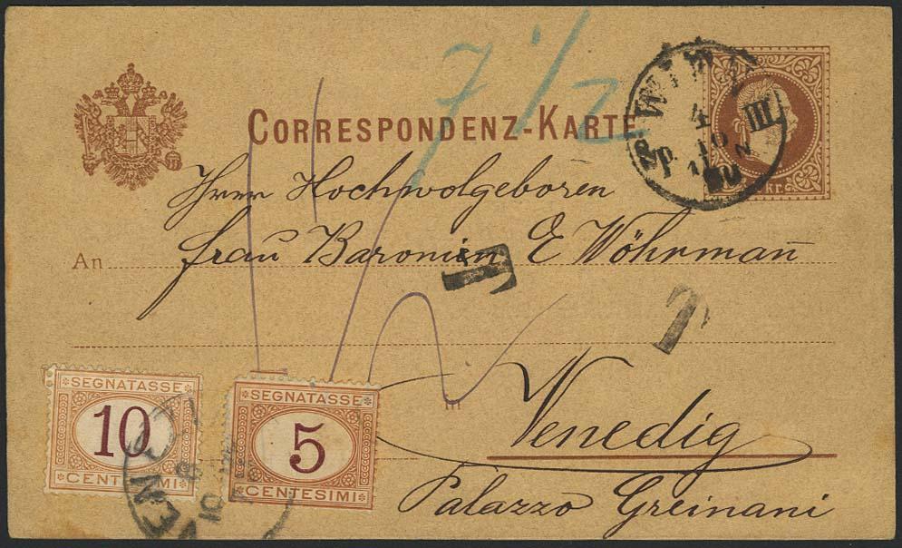 Lot 5355 - Europa A-Z österreich - ganzsachen -  Auktionshaus Ulrich Felzmann GmbH & Co. KG