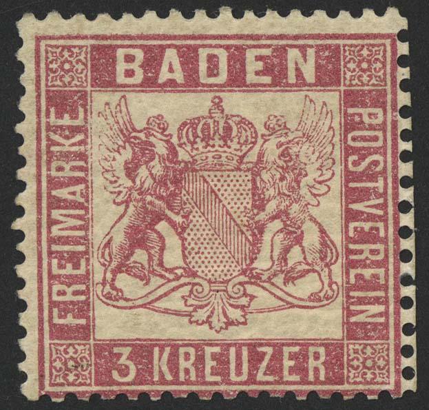 Lot 5462 - altdeutschland Baden - Markenausgaben -  Auktionshaus Ulrich Felzmann GmbH & Co. KG