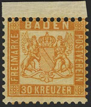 Lot 5468 - altdeutschland Baden - Markenausgaben -  Auktionshaus Ulrich Felzmann GmbH & Co. KG
