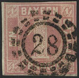 Lot 5472 - altdeutschland Bayern - Markenausgaben -  Auktionshaus Ulrich Felzmann GmbH & Co. KG