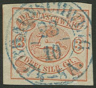 Lot 5496 - altdeutschland Braunschweig - Markenausgaben -  Auktionshaus Ulrich Felzmann GmbH & Co. KG