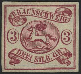 Lot 5507 - altdeutschland Braunschweig - Markenausgaben -  Auktionshaus Ulrich Felzmann GmbH & Co. KG