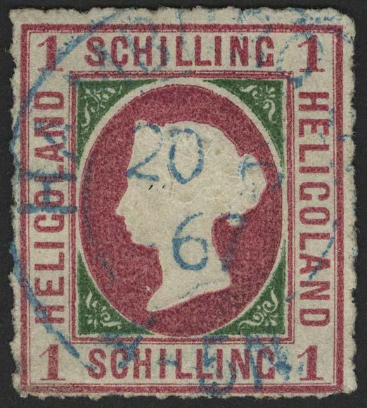 Lot 5543 - altdeutschland Helgoland - Markenausgaben -  Auktionshaus Ulrich Felzmann GmbH & Co. KG