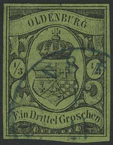 Lot 5566 - altdeutschland Oldenburg - Markenausgaben -  Auktionshaus Ulrich Felzmann GmbH & Co. KG