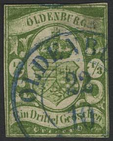 Lot 5572 - altdeutschland Oldenburg - Markenausgaben -  Auktionshaus Ulrich Felzmann GmbH & Co. KG